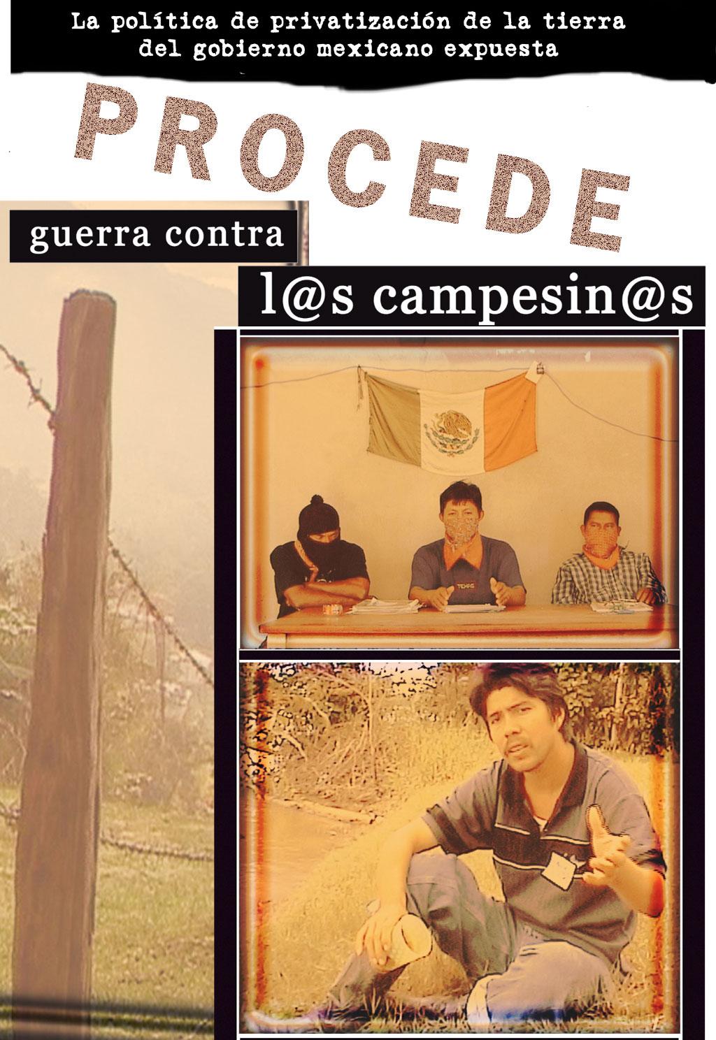 PROCEDE: Guerra contra l@s campesin@s